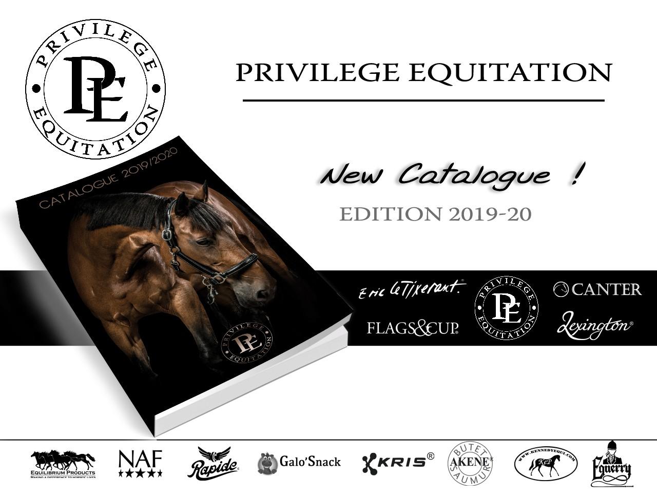 Nouveau catalogue Privilège Equitation - Edition 2019-20
