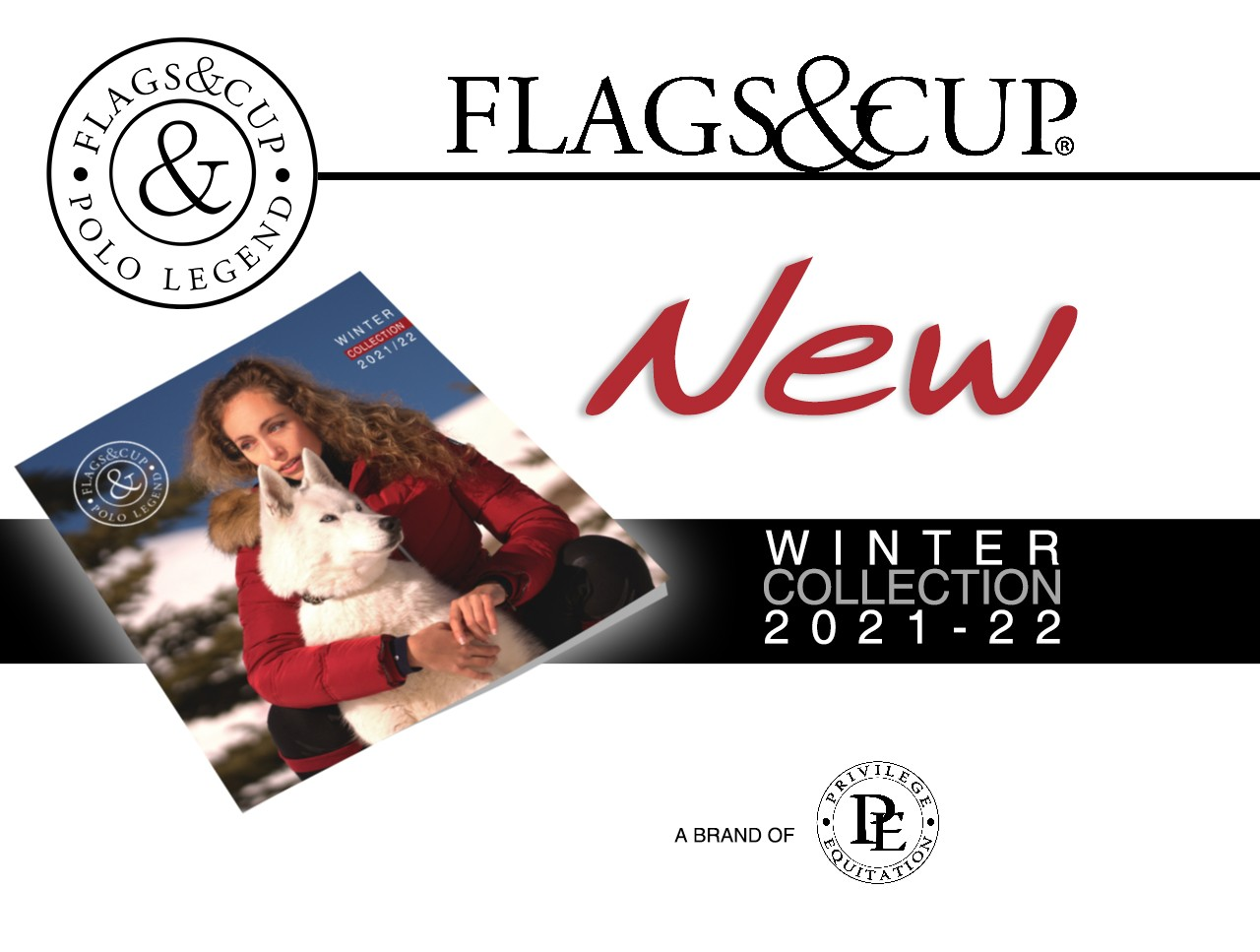 New Winter Collection Flags&Cup !