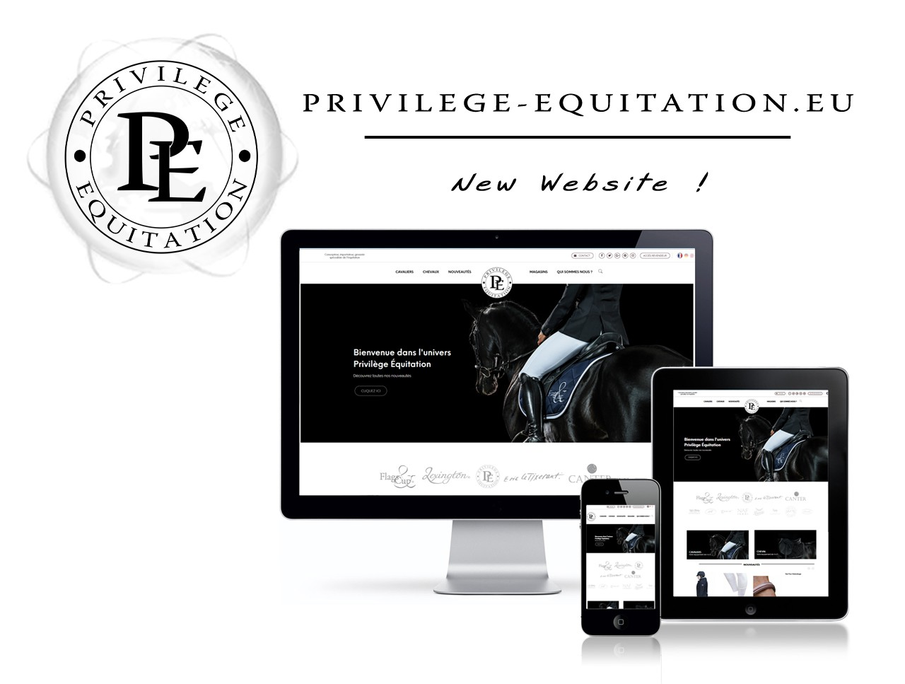 New Website Privilège Équitation !